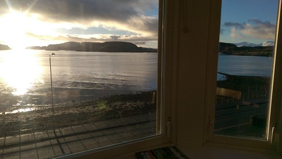 Oban Youth Hostel: View from bedroom