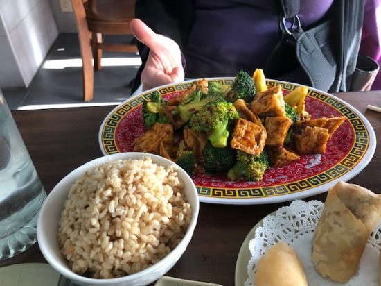 West Reading, PA: Broccoli and Tofu