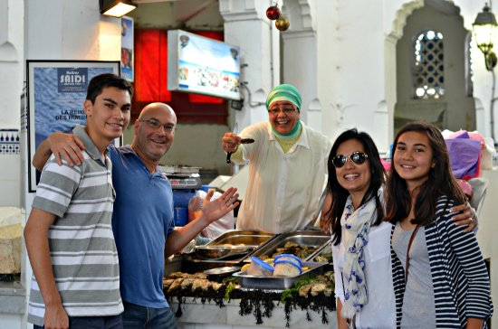 Casablanca, Marokko: Our tour of Marché Central concludes with a fabulous seafood lunch.