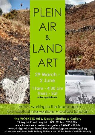 Rhondda, UK: Plein Air & Land Art exhibition March - June 2018
