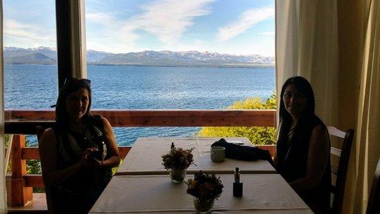Hotel Patagonia: Vista desde el comedor