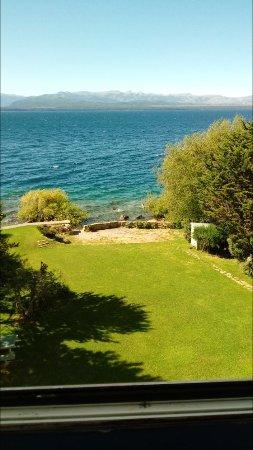Hotel Patagonia: Jardín posterior