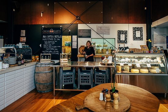 Havelock North, Nieuw-Zeeland: The Origin Earth Cheese Counter and Cafe