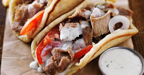 Red Wing, MN: Authentic Seasoned Lamb and Beef Gyro