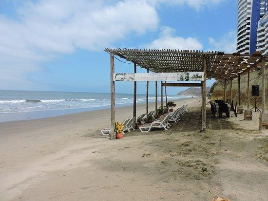 Esmeraldas, Ecuador: Solárium exclusivo para nuestros clientes