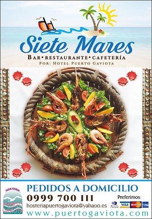 Esmeraldas, Ecuador: La mejor comida en nuestro restaurante