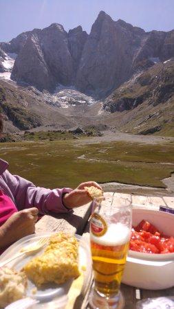Lac de Gaube : Almuerzo merecido