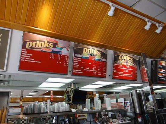 Madill, OK: menu