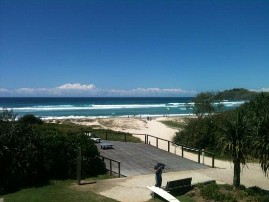 Cabarita Beach, Australien: Another great shot of the view from the balcony.