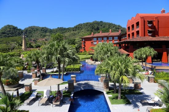 An oasis located on the beachfront of Costa Rica