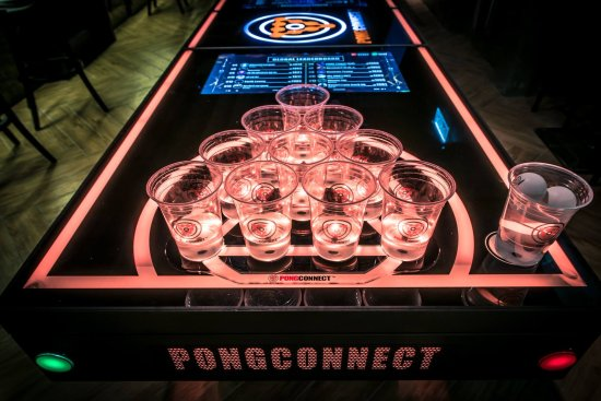 Beer Pong Picture Of Free House Bar And Cafe Hong Kong