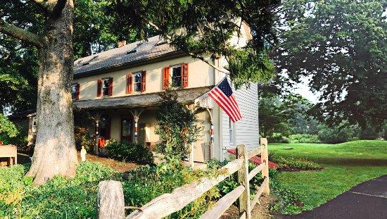 Pipersville, Пенсильвания: 1754 farmhouse