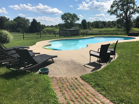 Pipersville, PA: in-ground pool