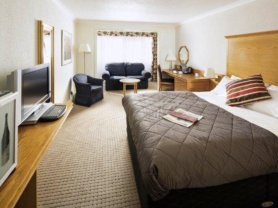 Winterbourne, UK: Guest room