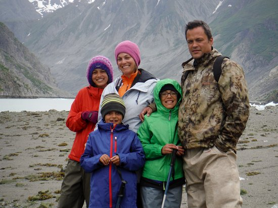 Gustavus, AK: Alexander family at McBride inlet