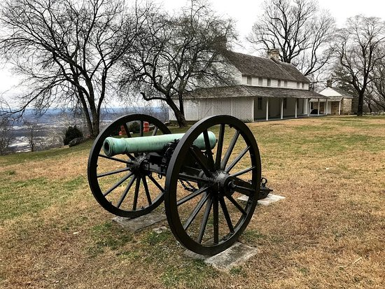 Cannons at Cravens House