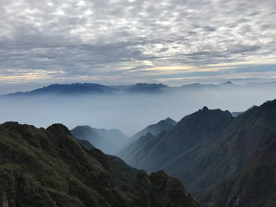 Lao Cai Province, Wietnam: Fansipan - Great view from the top of the mountain