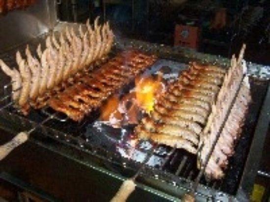 Perth, Australia: Delicious bbq chicken wings in Singapore