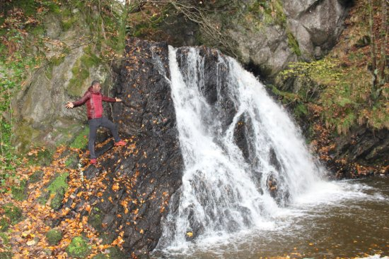 Rosemarkie, UK: Primera cascada