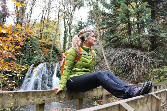 Rosemarkie, UK: Cascada final