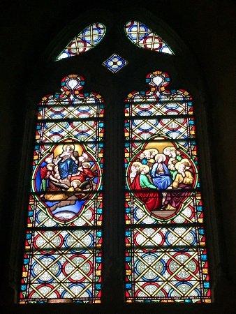 Bellac, France : de jolis vitraux