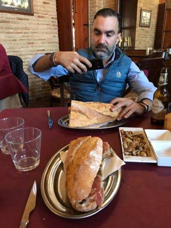 Almàssera, España: Almuerzo