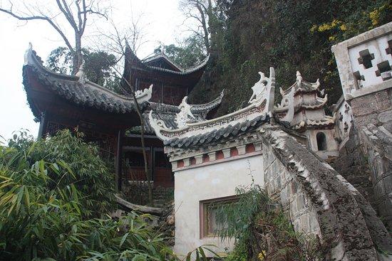 Qinglong Cave Ancient Architecture Group : Autre vue