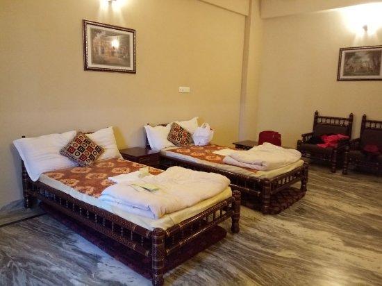 Sri Mayapur Chandrodaya Mandir, ISKCON: Room at Isodyan Bhaban , Iskon Mayapur