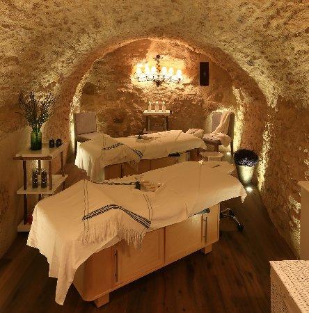 Crillon-le-Brave, France: Cabine double pour les soins romantiques