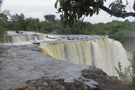 Northern Province, Zambia: from the Top of the falls