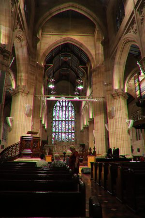 St. Andrew's Cathedral : The preacher's chair