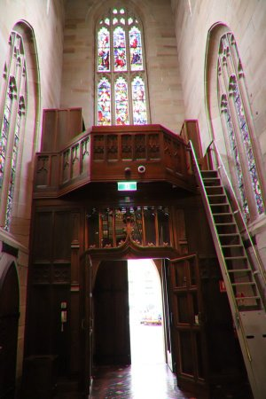 St. Andrew's Cathedral : Beautiful wooden work