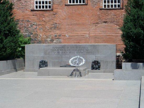 Monument to the Unknown Warrior : Monumento al soldado desconocido.
