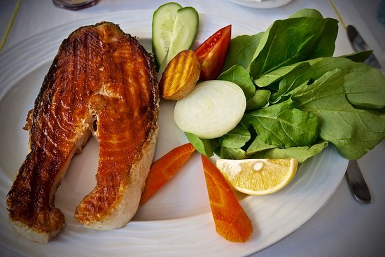 Sultanahmet Fish House: Блюдо