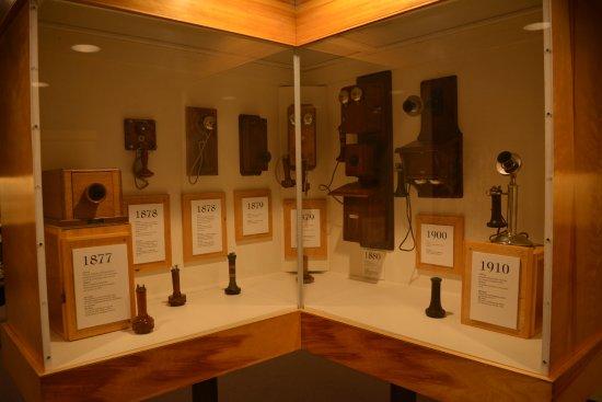 Alexander Graham Bell National Historic Site: les différents téléphones