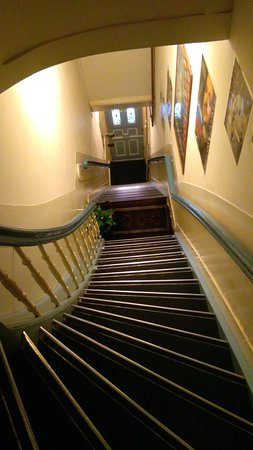 Hotel Museumzicht: Staircase