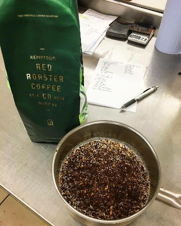 Julien Plumart Cafe: We use coffee from Redroaster coffee house in Kemptown - we keep it local!