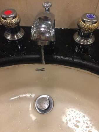 Poor water supply  This is with tap full open - Picture of Vits