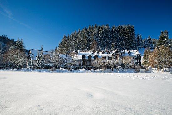 Bad Laasphe, Deutschland: Der Jagdhof im Winter