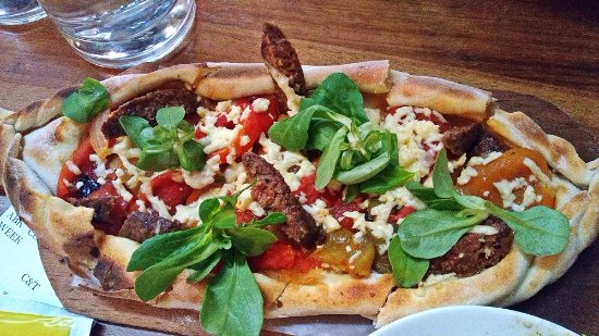 Crispy squid picture of arabica bar kitchen london for Arabica mediterranean cuisine