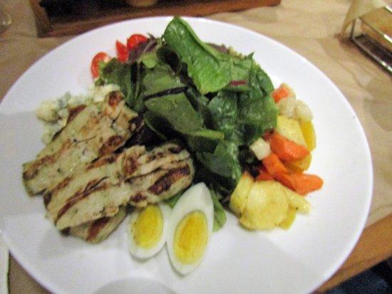 Newburyport, MA: My Chicken Caesar salad