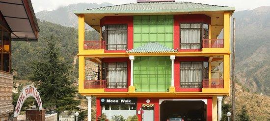 Entrance - Picture of Hotel Moon Walk Residency, McLeod Ganj - Tripadvisor