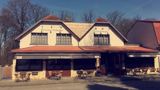 Flobecq, Bélgica: Restaurant Oud België
