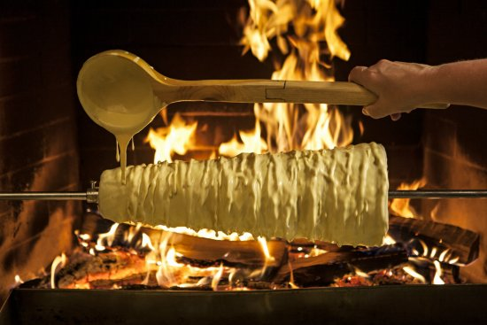 Lithuania: Traditional cake 'Šakotis'. Photo: R. Linkaite