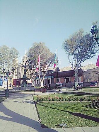 Plaza de Armas de Moquegua Perú