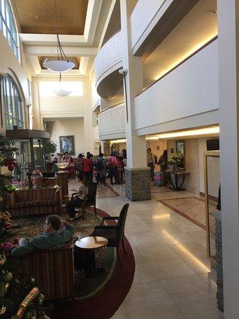 Millennium Hotel Queenstown: Lovely Reception Area