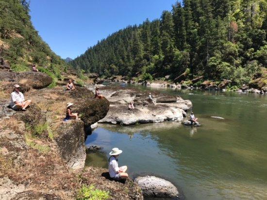 Merlin, OR: Meditation along the river