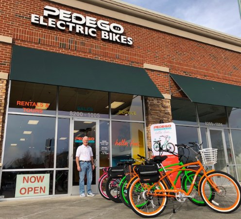 Durham, NC: Come rent an electric bike and ride the famous American Tobacco Trail that is right behind us!