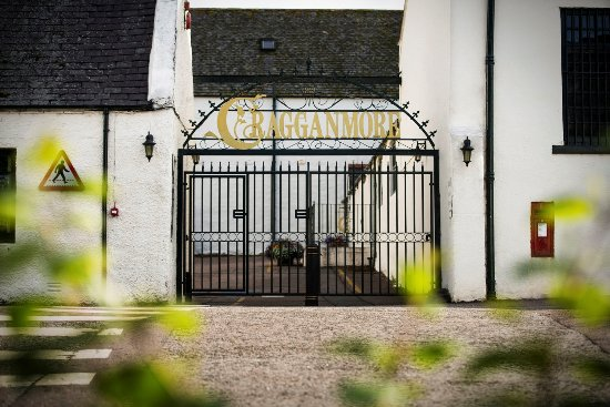 Ballindalloch, UK: The Cragganmore Gate