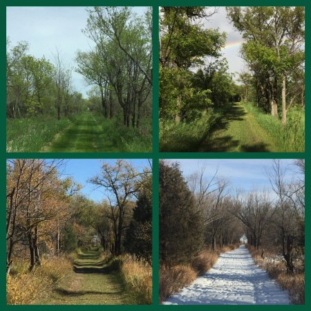 Epping, ND: Four Seasons on the Interpretive Trail